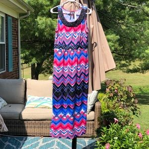 New direction petite maxi dress size PM